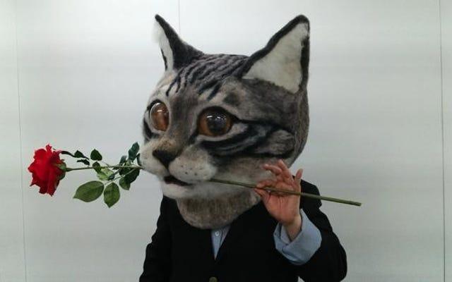 Vous pouvez porter cette tête de chat bizarre à Tokyo