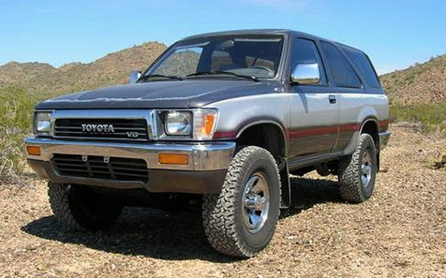 Untuk $ 4.500, Toyota 4Runner 1990 Ini Bukan Putri Trotoar