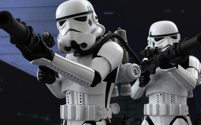 Nawet postacie z Gwiezdnych Wojen w tle dostają drogie zabawki