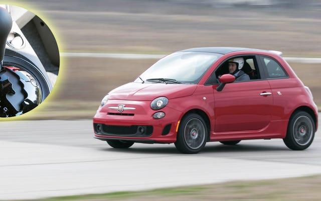 Der Fiat 500 Abarth ist mit einer Automatik einfach nicht so dumm