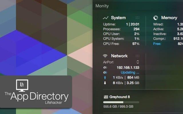 Najlepszy monitor systemu dla Mac OS X