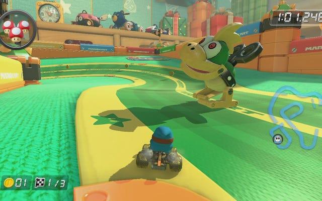 Le nouveau DLC de Mario Kart 8 regorge de blagues internes