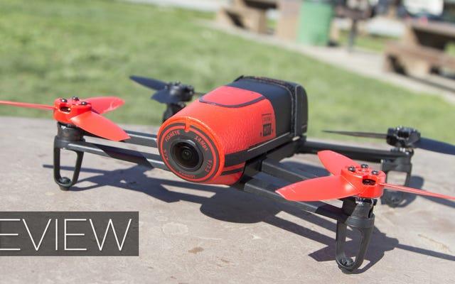 Parrot Bebop Drone dan Skycontroller Review: Tampak Bukan Segalanya