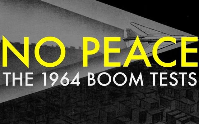 FAAが6か月間ソニックブームでオクラホマシティを爆破したとき