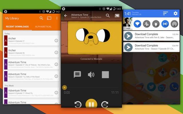 Android用のビデオストリームがPCからChromecastに映画をストリーミングします