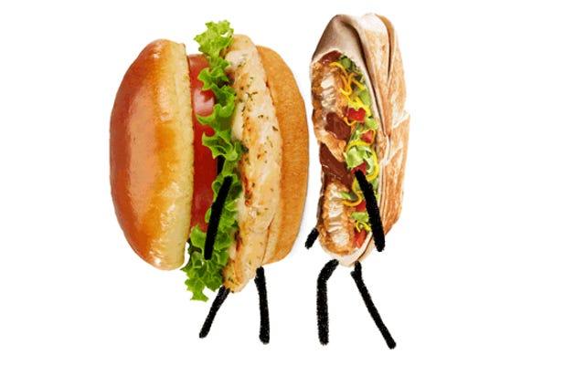Chicken Fight: McDonald's Artisan Grilled Vs. Chickstar Taco Bella