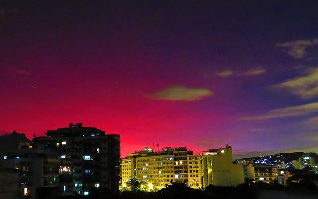 क्यों चिली में एक ज्वालामुखी विस्फोट ब्राजील के स्काई पर्पल को मोड़ रहा है