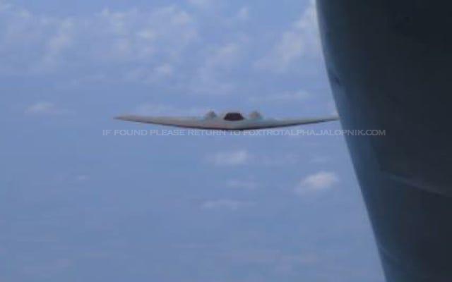 Đây có phải là Bằng chứng cho thấy Không quân Hoa Kỳ có thể tiếp nhiên liệu trực tiếp cho máy bay không người lái tàng hình?