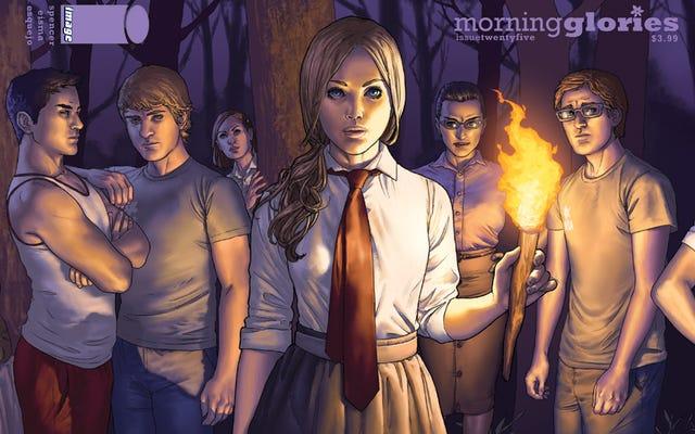 Morning Glories mélange Poudlard et Lost dans une bande dessinée unique et géniale