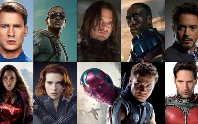Todo el universo cinematográfico de Marvel ha sido lanzado en Civil War