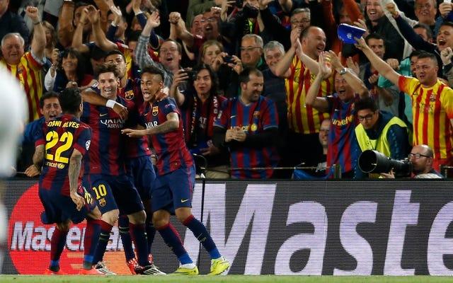 Barcelone est la meilleure équipe d'Europe; Maintenant, ils ont juste à le rendre officiel
