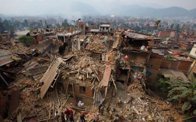 Il radar della NASA ha trovato 4 uomini intrappolati nelle macerie in Nepal dai loro battiti cardiaci
