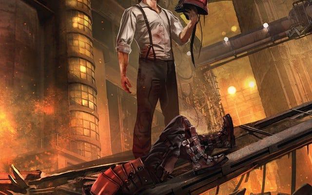 Путешествие скромного героя начинается в этом Городе фонарей # 1, превью комикса