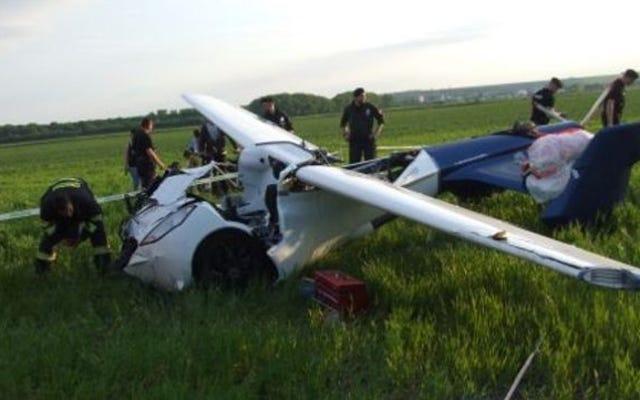 Mobil terbang Aeromobil jatuh saat uji terbang