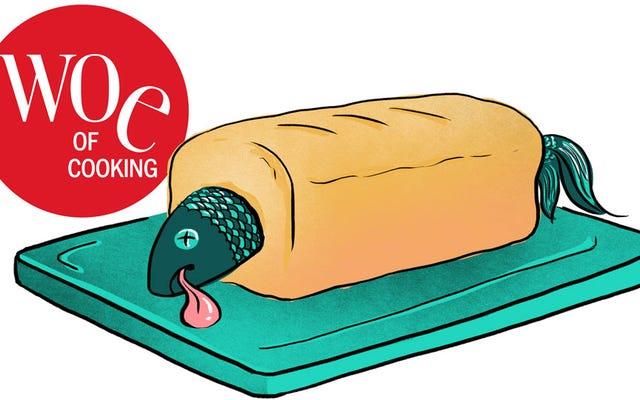 ลองสูตรที่แย่ที่สุดของ Joy Of Cooking อันดับแรก: Quick Fish Loaf