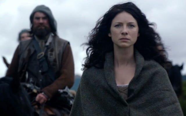 Outlander: marcher et parler et pomper et vider