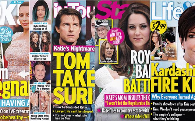 今週のタブロイド紙:キム・カーダシアンは妊娠していて、男の子です!