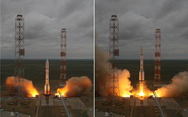 ロシアのロケットが爆発し、メキシコの衛星を破壊する