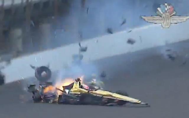 James Hinchcliffe hospitalizado después de un accidente en la práctica de IndyCar