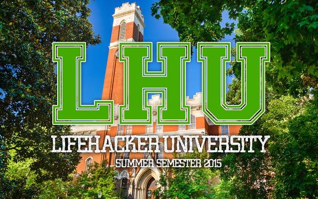 Спланируйте бесплатное онлайн-образование на Lifehacker U: летний семестр 2015 г.
