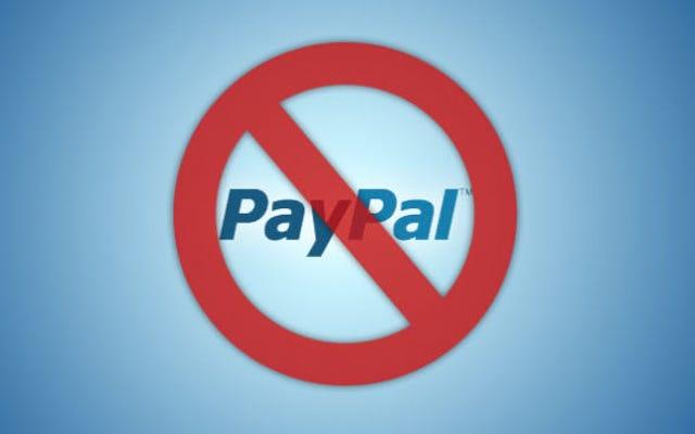 PayPal'ın Cehennem Kadar Kabataslak Olması İçin 25 Milyon Dolar Ödemesi Gerekiyor