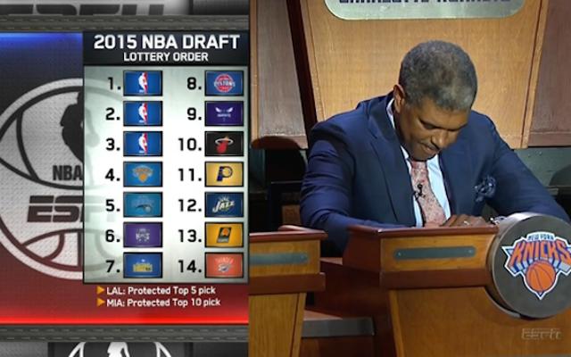 Timberwolves seleccionará primero, Knicks, el gran perdedor de la lotería