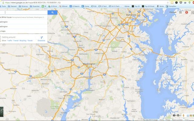 Последний провал Google Maps: расистские результаты о Белом доме