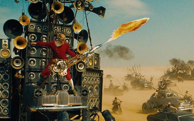 Kisah gila Mad Max tentang pria penyembur api gitar