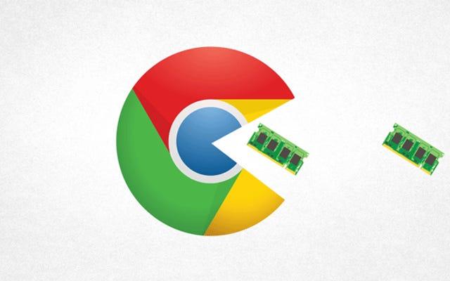 Pourquoi Chrome utilise tellement de RAM effrayante