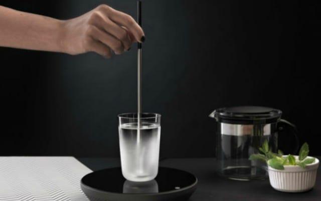 Cette tige «bouilloire» est un excellent moyen d'économie d'énergie pour faire du thé