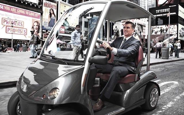 申し訳ありませんがテスラ、未来の電気自動車はゴルフカートのようになります