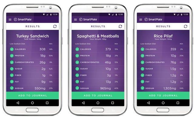 SmartPlate vuole essere il tuo nutrizionista personale