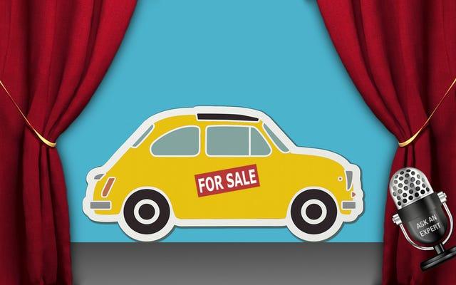 専門家に聞く:車の売買について