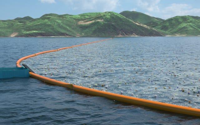 El ingenioso plan para que el océano se limpie solo está dirigido por un joven de 20 años