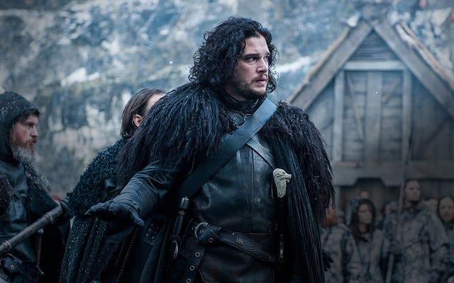 L'hiver est très proche dans Game of Thrones, et cette carte en est la preuve