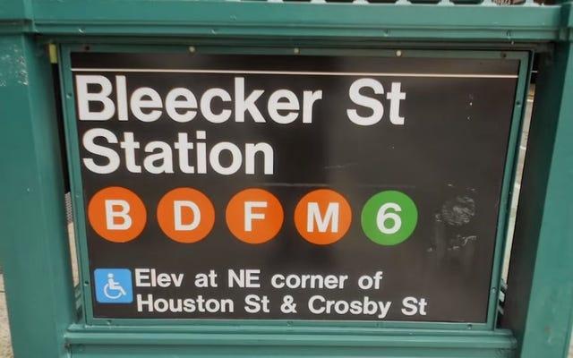 地下鉄の見知らぬ人によって線路に押し込まれた女性[更新]