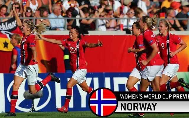 ノルウェーのブルートフォースの過去とサッカーの未来が出会う