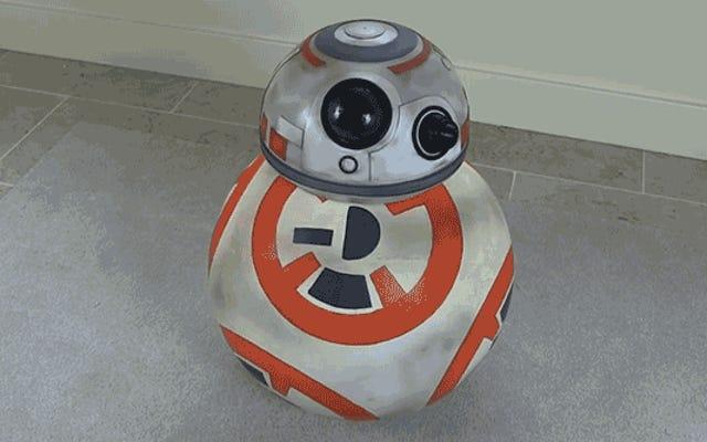 Panduan Lengkap Untuk Membangun Rolling Star Wars BB-8 Droid Anda Sendiri