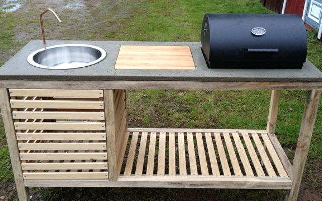 Постройте портативную кухню на открытом воздухе