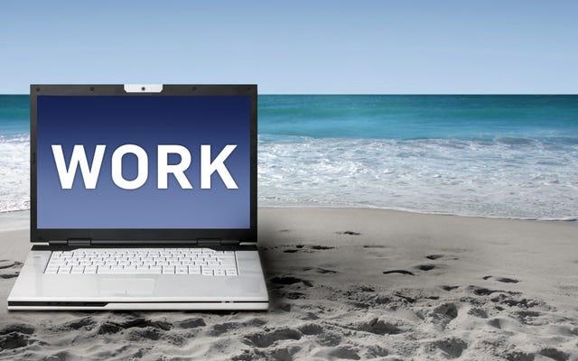 Comment travailler en vacances (sans devenir fou)