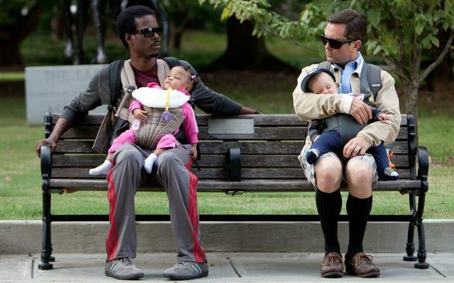 Yeni Babalar İçin Ödüller: Harika Bebek Teçhizatı, Utanç Yok