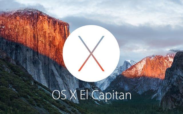 OS X 10.11 El Capitan เป็นทางการ: นี่คือสิ่งที่เปลี่ยนแปลง