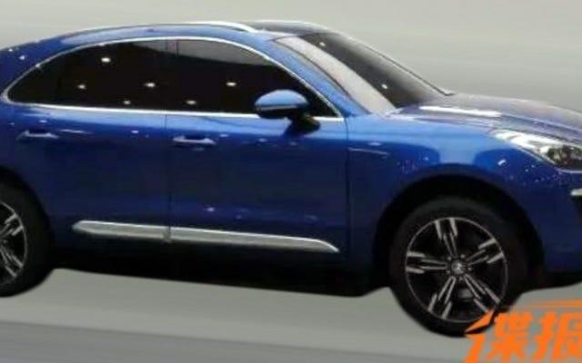 Salinan Porsche Macan Cina Bisa Menipu Tetangga Anda Dengan Harga Di Bawah $30K
