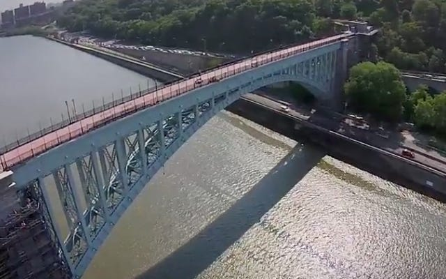 ニューヨーク市で最も古い橋が40年後に再開されました