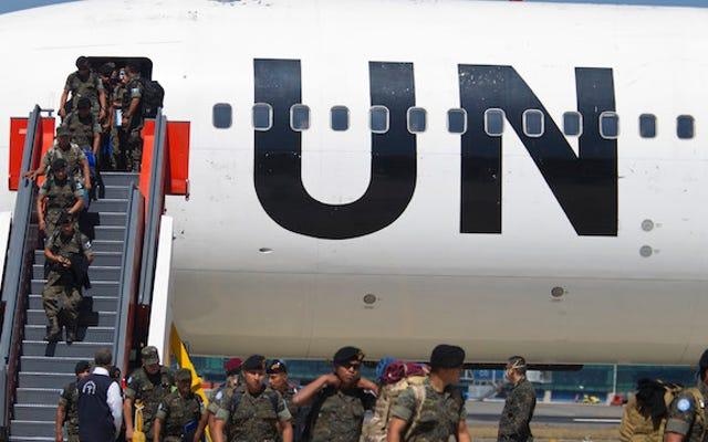 संयुक्त राष्ट्र शांति सैनिकों का स्थानीय लोगों के साथ 'लेन-देन संबंधी यौन संबंध' 'काफी आम' है