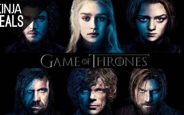 ข้อเสนอสื่อที่ดีที่สุดของวันนี้: Game of Thrones ซีซั่นที่ 1-4 และอีกมากมาย