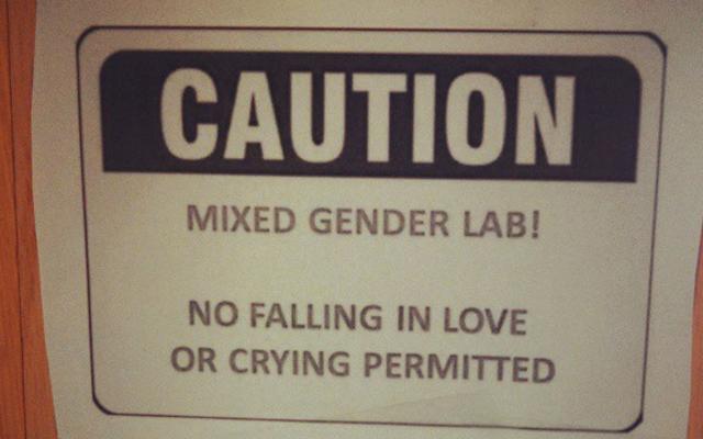 Estas científicas son tan distraídas que estoy enamorada y llorando
