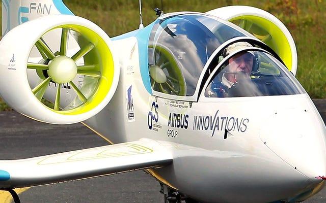電気エアバスはパイロットの免許を持っていないためにあなたの言い訳を殺します