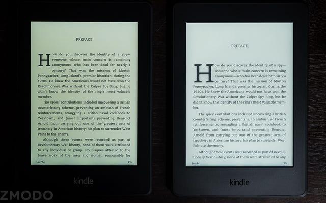 Super Great Kindle Paperwhite firmy Amazon ma teraz super świetny wyświetlacz