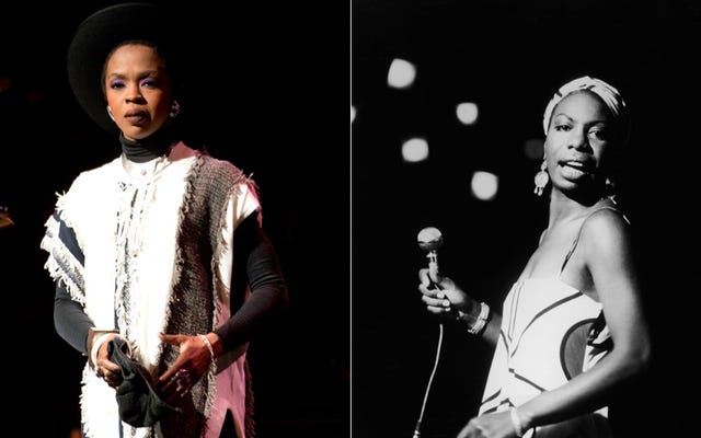 Y/N: หน้าปก Nina Simone ของ Lauryn Hill มอบความผ่อนคลายให้กับจิตใจ